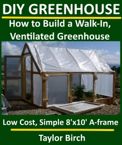 walk-in greenhouse plans