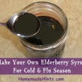 black elderberry syrup recipe for colds and flu