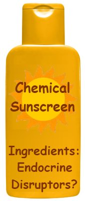 does chemical sunscreen ingredients act as endocrine disruptors