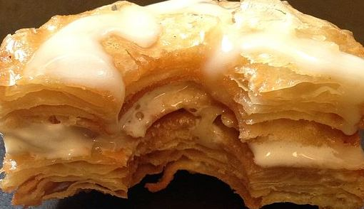 cronut recipe made from croissant dough