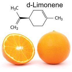 d-limonene is a natural insecticide made from oranage oil.