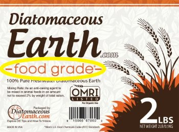 Natural, food grade diatomaceous earth to kill ants.