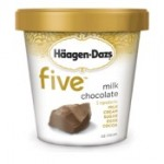 haagen dazs five chocolate natural ice cream