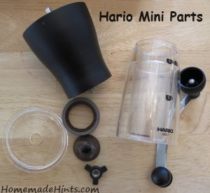 hario mini mill slim grinder parts