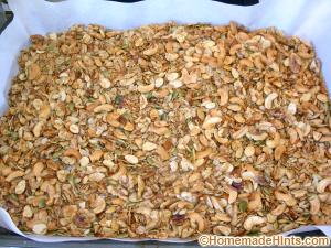 healthy homemade granola recipe