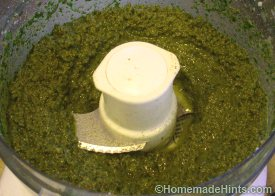 homemade basil pesto recipe