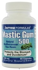 mastic gum to treat helicobacter pylori