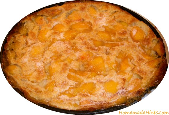 peach clafoutis recipe quick dessert
