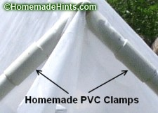 plastic greenhouse cover attachment
