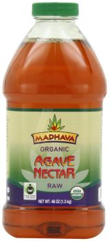 fair trade raw organic agave nectar