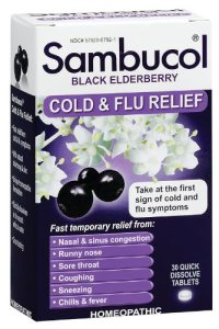 sambucol elderberry syrup for colds and flu