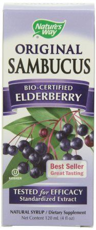 sambucus elderberry syrup benefits