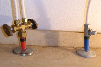Water supply turnoff valves